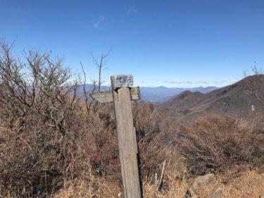 百名山 赤城山の地蔵岳登山