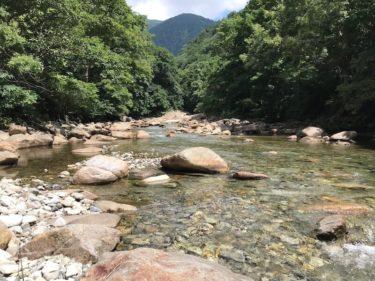 利根漁業協同組合管轄の「湯檜曽川」釣行記(2020年8月中旬)
