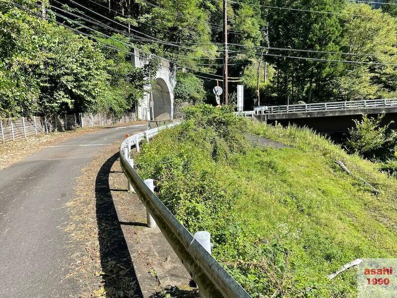本谷 神流川 トンネル