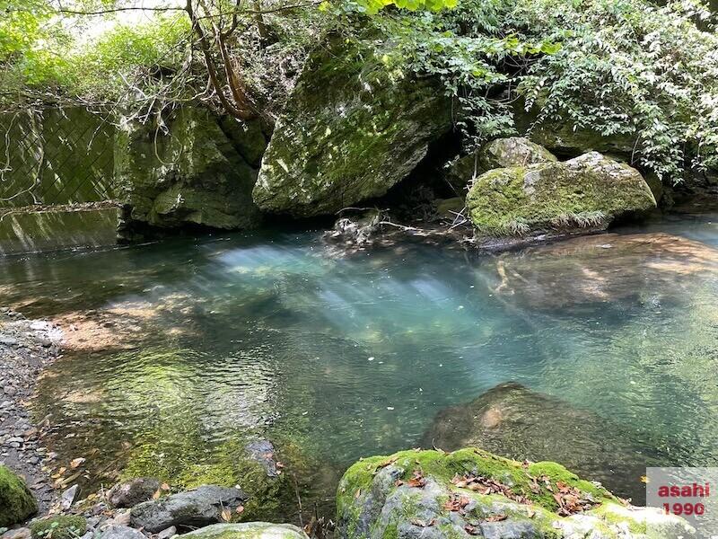 本谷 神流川 釣り 淵